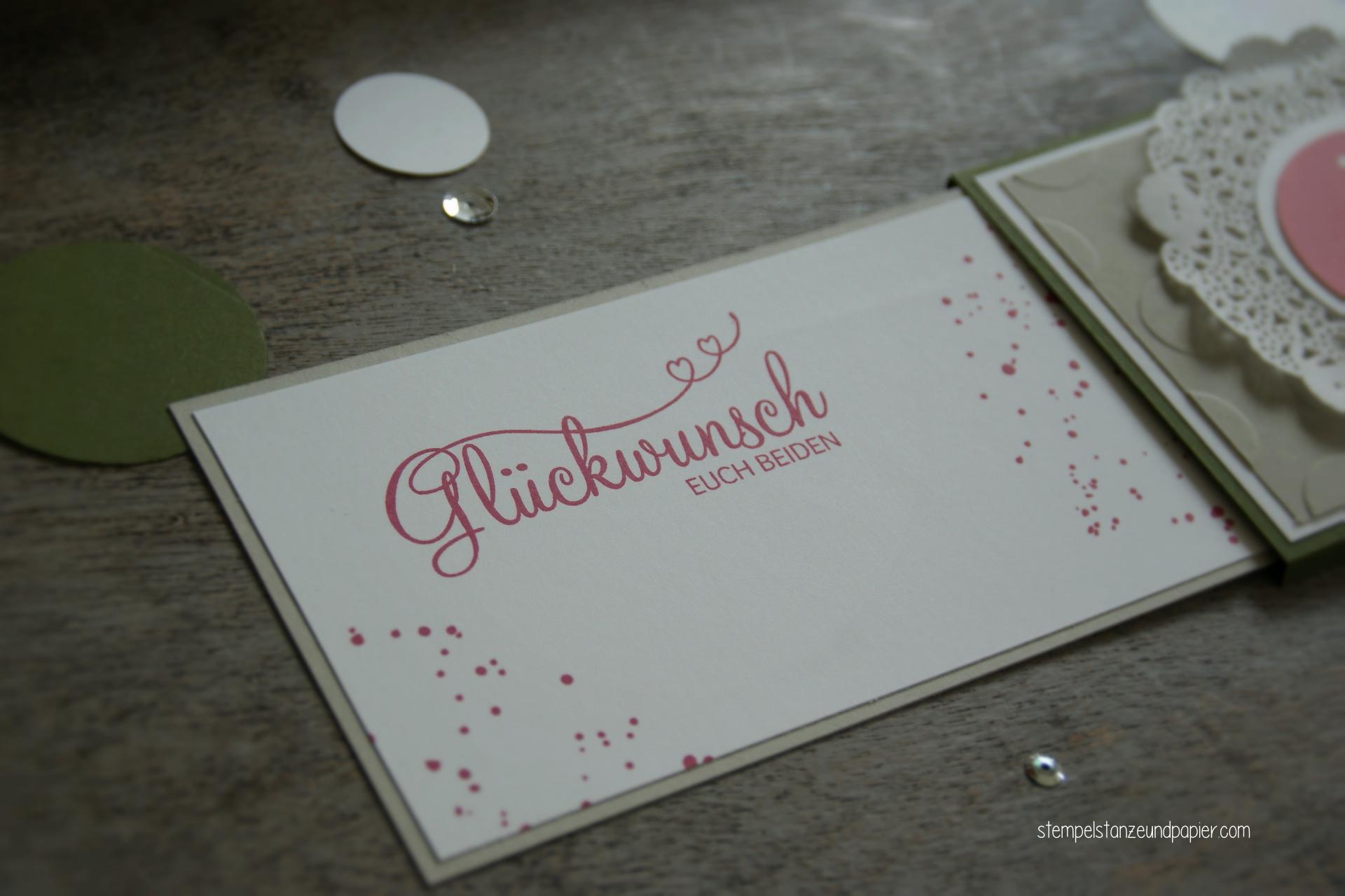 Hochzeit doppel ausziehkarte 6