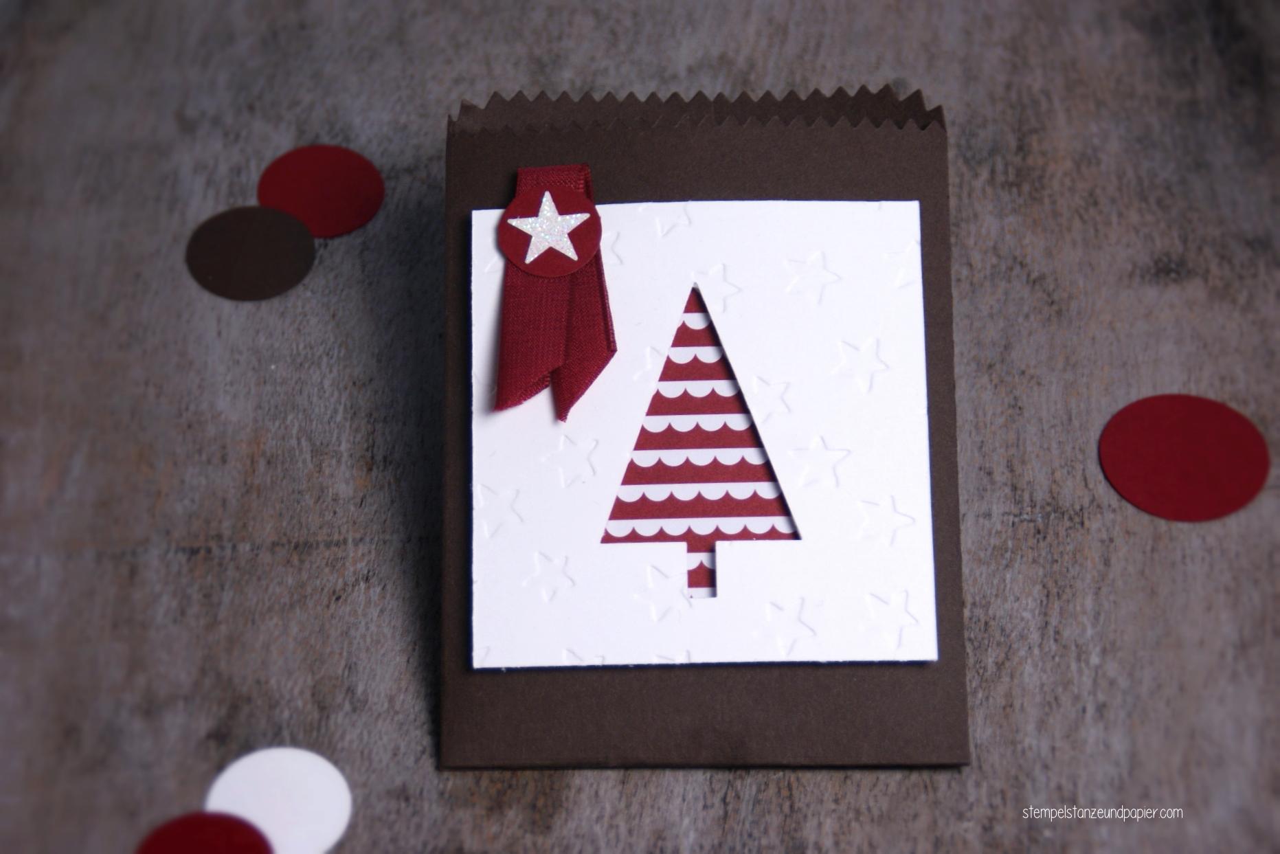 Mini Adventskalender Tannenbaum