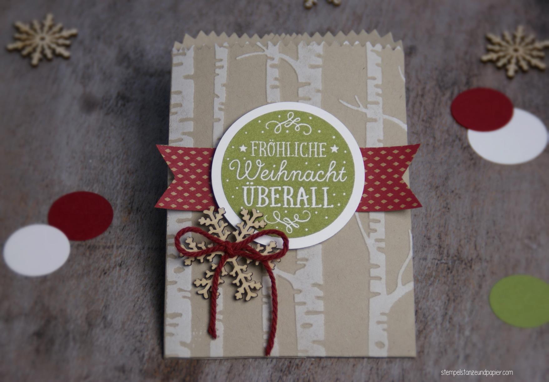 Mini Adventskalender Fröhliche Weihnacht
