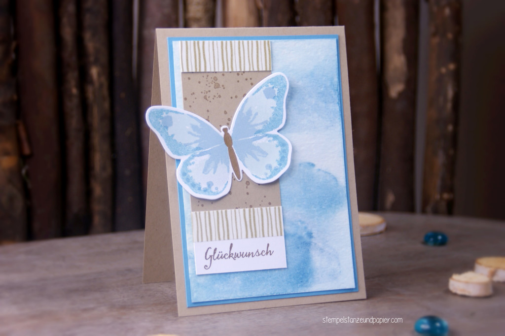 Schmetterling Karte gdp024 case the designer