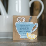 Tee Tasse|Have a cuppa|Vollkommene Momente|Framelits Teestunde|Stampin Up!|Anleitung Teebeutelverpackung|Teemischung selbermachen