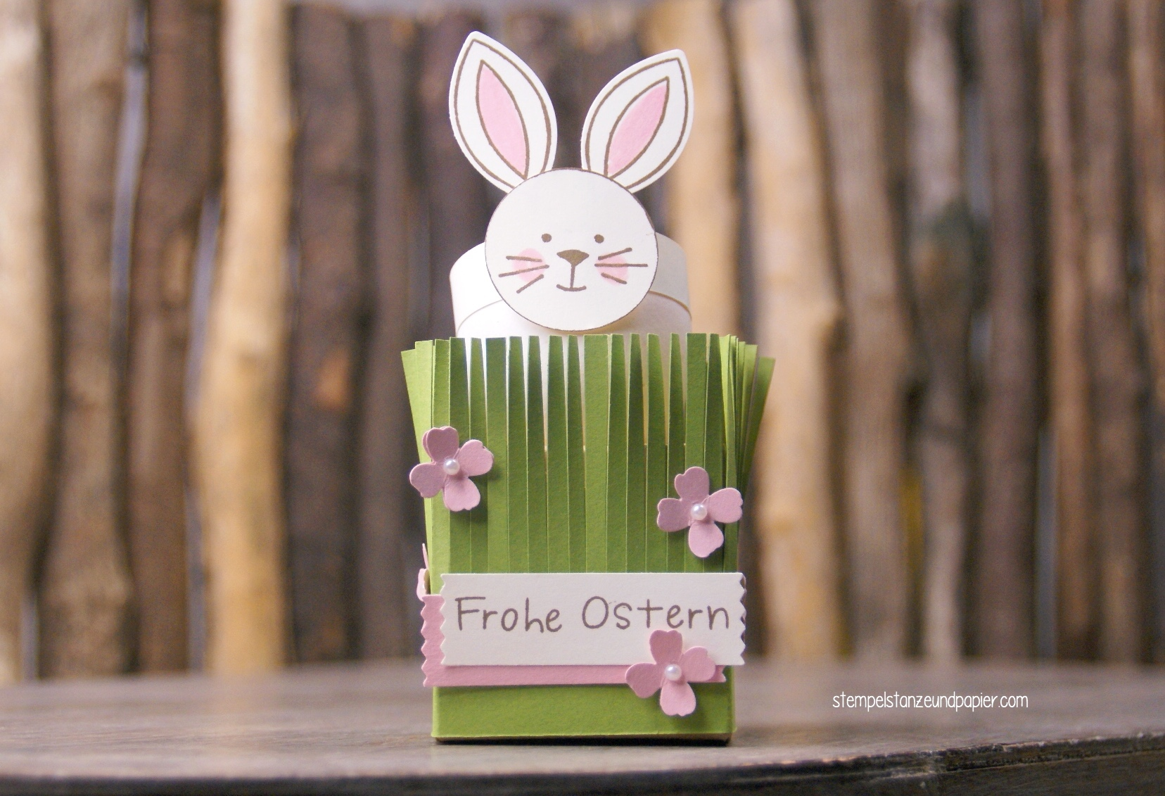 Eierbecher Osterhase DIY friends and flowers