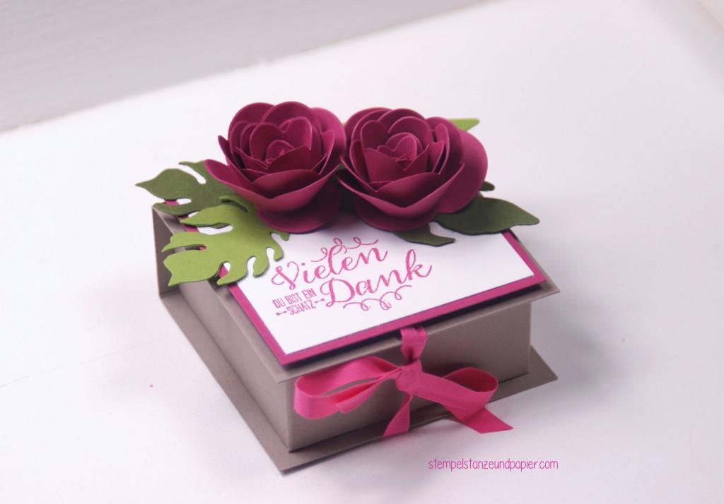 Eine Schachtel für selbstgemachte Pralinen