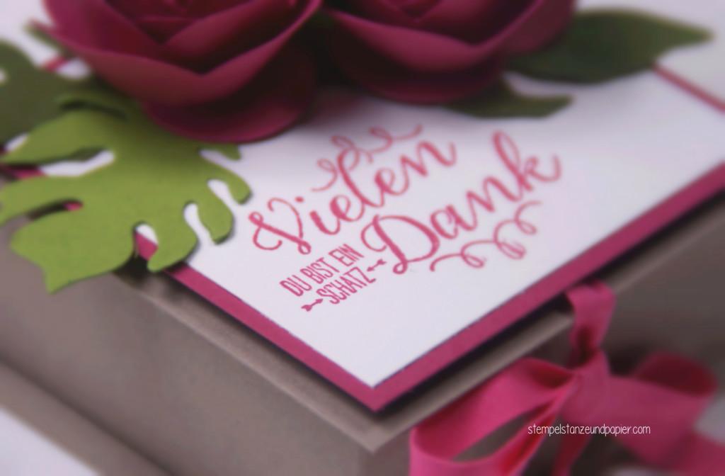Detailfoto Schachtel für selbstgemachte Pralinen 1