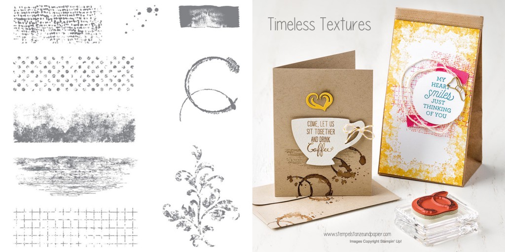 stampin up|timeless textures|stempelset|stampset|collage