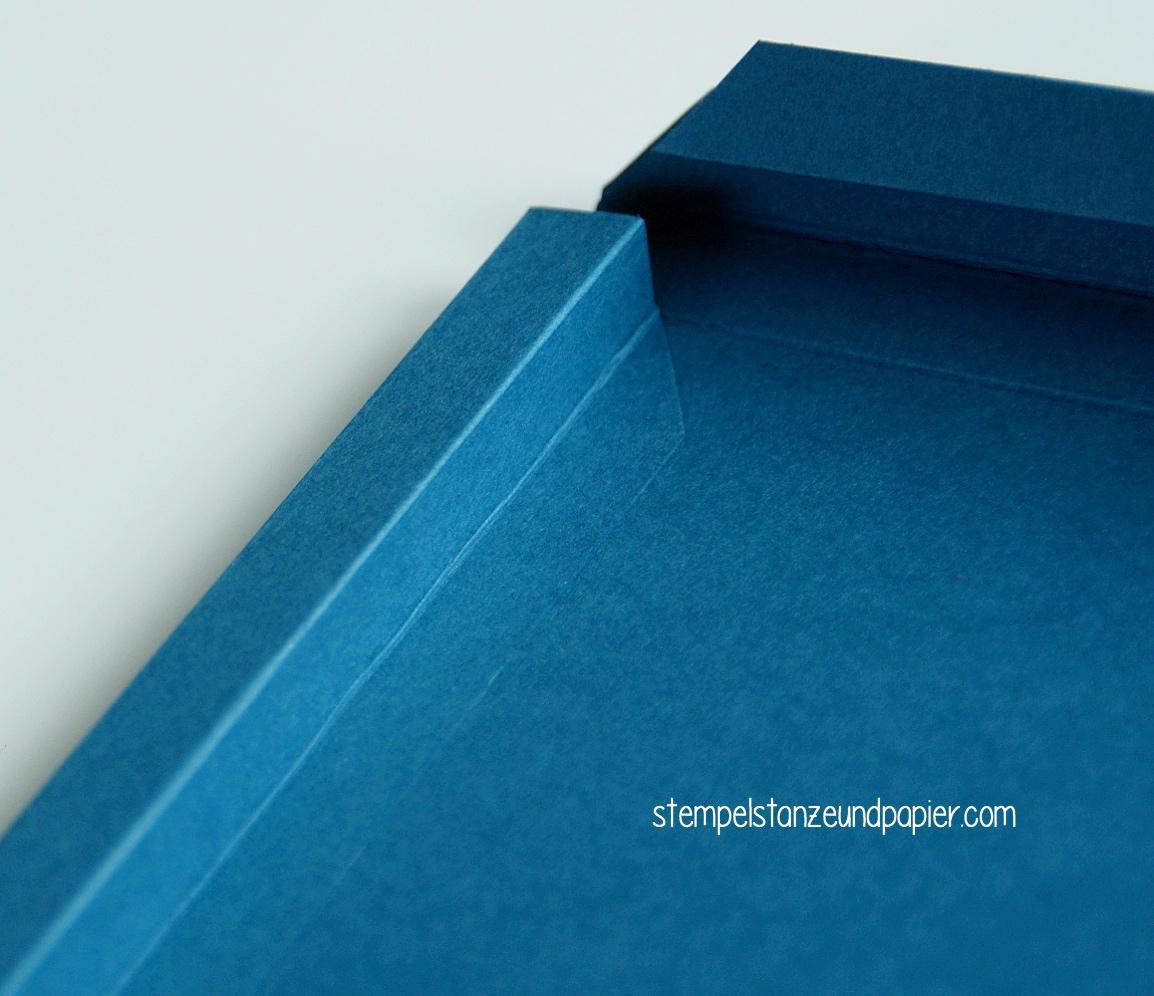 Anleitung für einen Bilderrahmen aus Papier - Stempel, Stanze und Papier