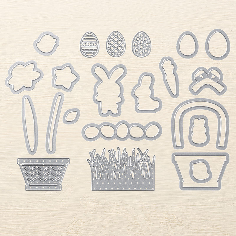 Basket Builder Framelits Stampin' Up!