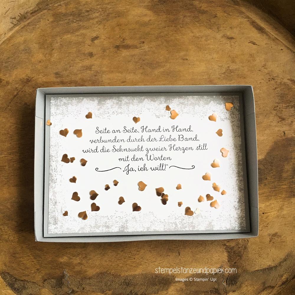 Geldgeschenk zur Hochzeit verpacken fuer besondere anlaesse stampin up stempelstanzeundpapier