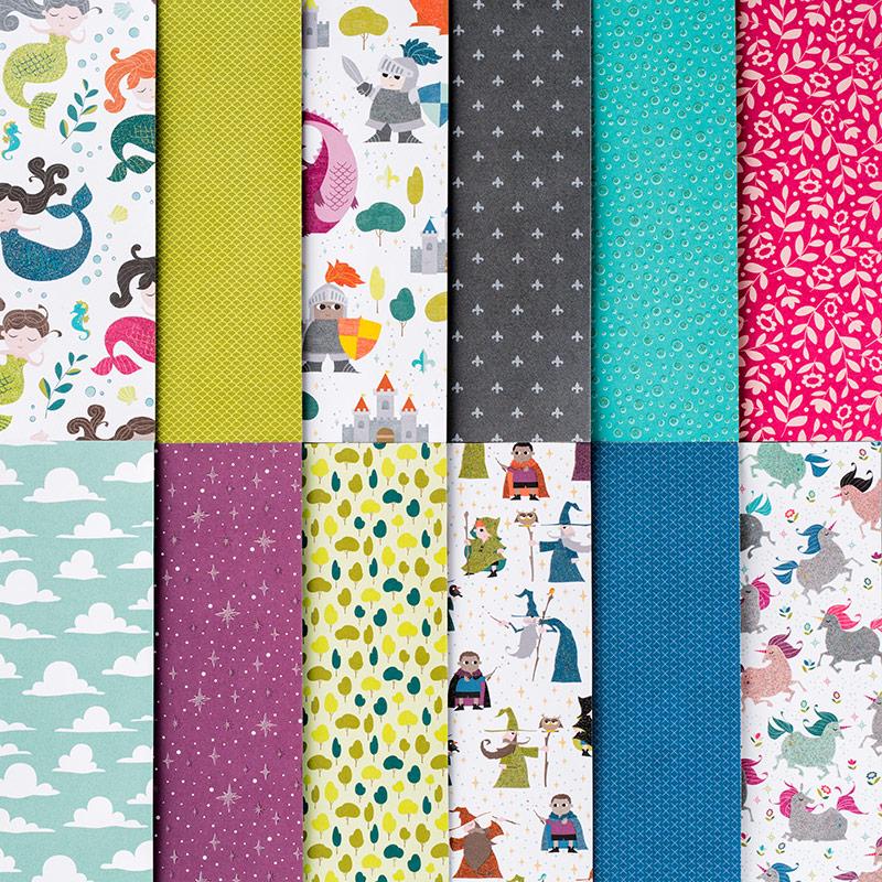 145600 Designerpapier Märchenzauber stempelstanzeundpapier Designerpapiere im Frühjahr-/Sommerkatalog 2018 von Stampin' Up!