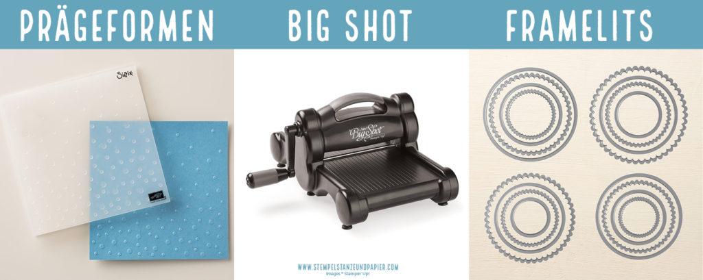 Big Shot Framelits Thinlits Prägeformen Stampin Up stempelstanzeundpapier