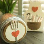 Geschenk aus der KücheBBQ Rub Memphis Dust verpackt mit Kittelkreationen