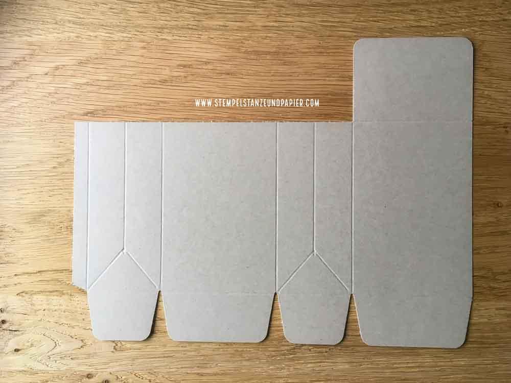 Osterhasen Verpackung Anleitung Stanz-und Falzbrett für Tüten Stampin' Up! stempelstanzeundpapier