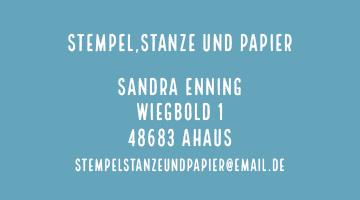 impressum stempelstanzeundpapier Stampin' Up! Workshops in Ahaus