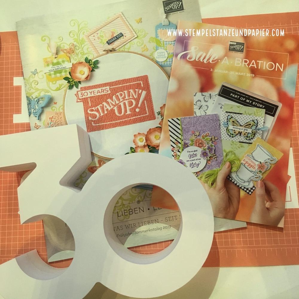 Frühjahr Sommerkatalog 2019 stampin' Up! Sale a Bration 2019